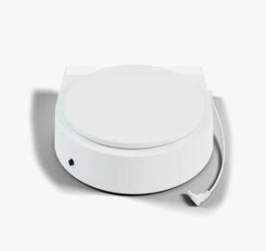 White turntable